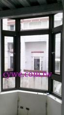 錦鋐氣密窗-八角窗樣式