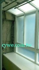 鋁窗-橫推式-豐隆鋁門窗