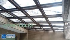 鋁鋼構雨棚